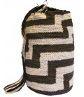 Black and White Orthogonal Patterns Kankuamo Bag