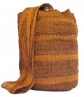 Brown Stripe Patterns Kankuamo Bag