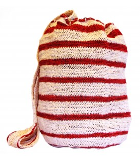 Red Stripe Patterns Kankuamo Bag