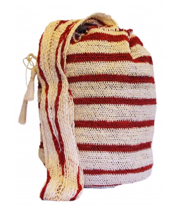 Red Stripes Kankuamo Bag