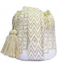 Arhuaco Multicolor Triangle Wayuu Pattern Bag