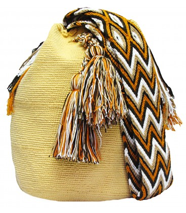 Light Brown Wayuu Mochila Bag