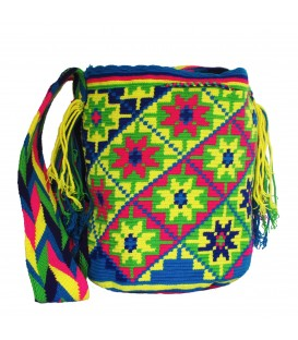 Tribal Flower Wayuu Bag