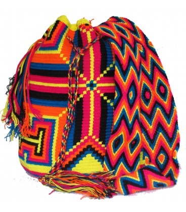 Purple/Yellow/Blue/Orange Wayuu Wholesale Bags