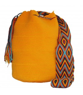 Yellow Wayuu Pattern Bags