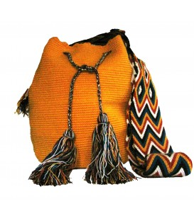 Wholesale Yellow Wayuu Pattern Bags