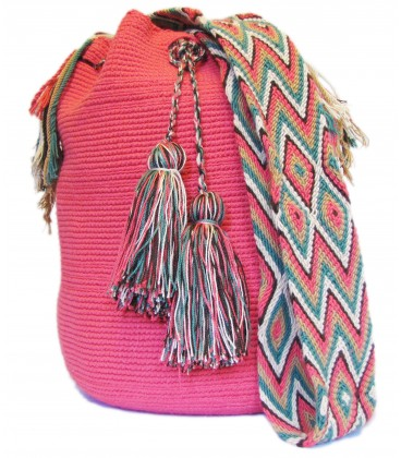 Complex Guayaba Pink Patterns Bags
