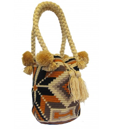 Multicolor Wayuu Bag