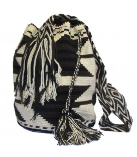 Arhuaco Multicolor Arrow Wayuu Pattern Bag