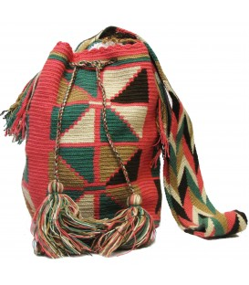 Guayaba Colors Complex Wayuu Pattern Bag