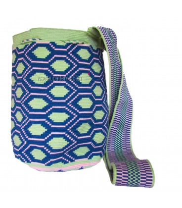 Hexagonal Wayuu Pattern Bag