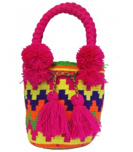 Bright Tote Multicolor Wayuu Bag