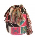 Guayaba Colors Abstract Complex Wayuu Pattern Bag