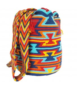 Multicolor Triangular Wayuu Pattern Bag