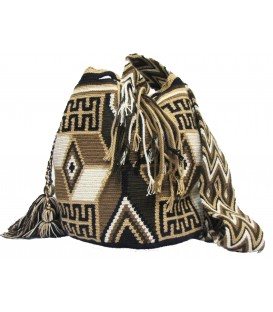 Earth Color Multicolor Wayuu Bag