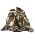 Earth Colors Multicolor Complex Mingled Wayuu Pattern Bag