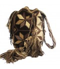 Earth Colors Multicolor Wayuu Pattern Bag