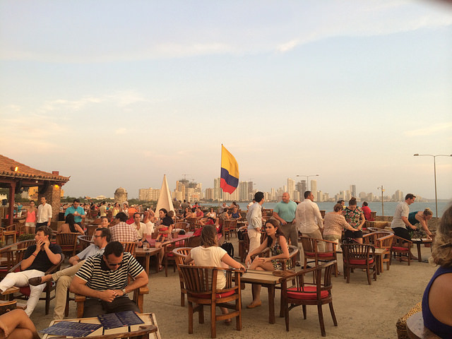 Cafe Del Mar Bar-Photo Taken by AmelieNewYork