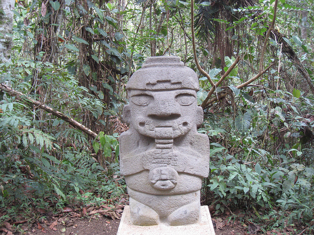 San Agustin Statue Forest-https://www.flickr.com/photos/8529845@N05/5045902373/