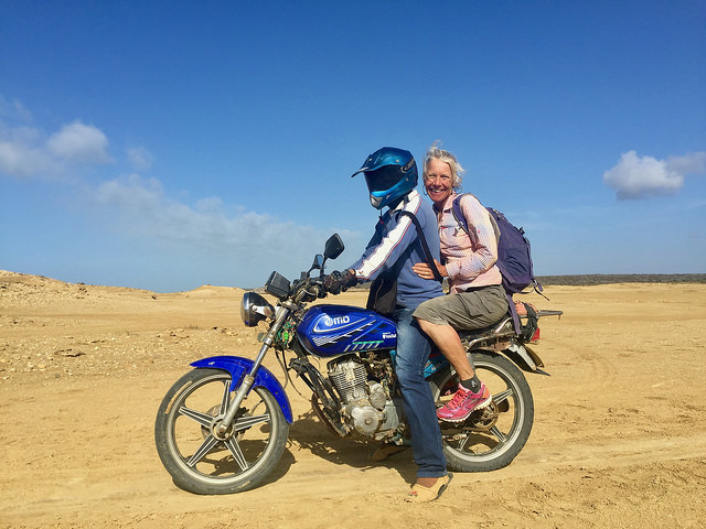 Motorcycle tour in La Guajira
