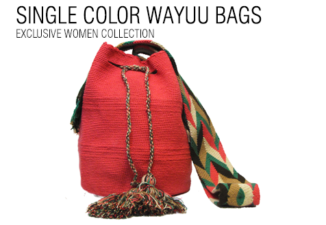 SINGLE COLOR WAYUU BAGS FOR WOMEN